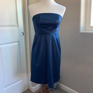 Banana Republic jewel blue party dress